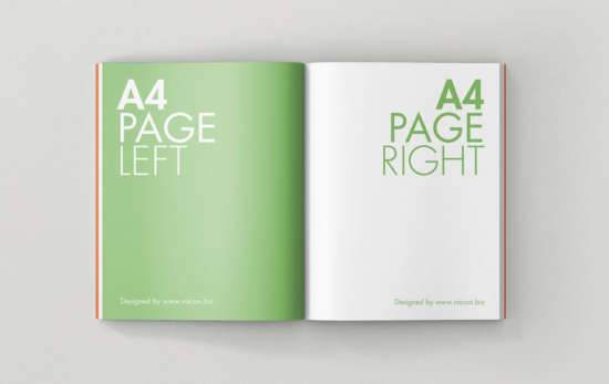 open_a4_magazine_mockup