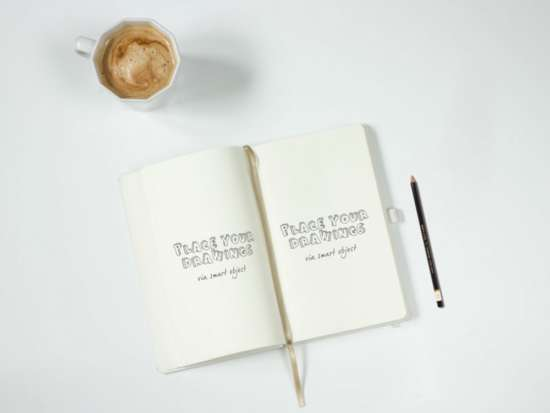 notebook_with_pencil_mockup