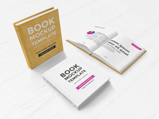 hardcover_book_mockup_set