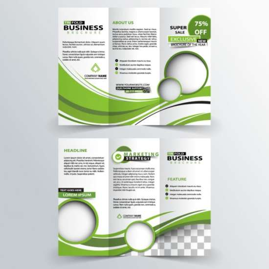 trifold_business_of_green_waves