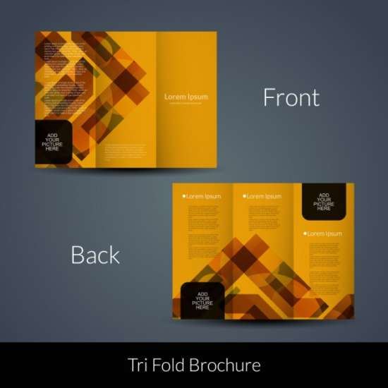 orange_geometric_tri_fold_template