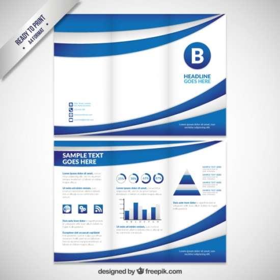 abstract_blue_waves_tri_fold_brochure_screenshot