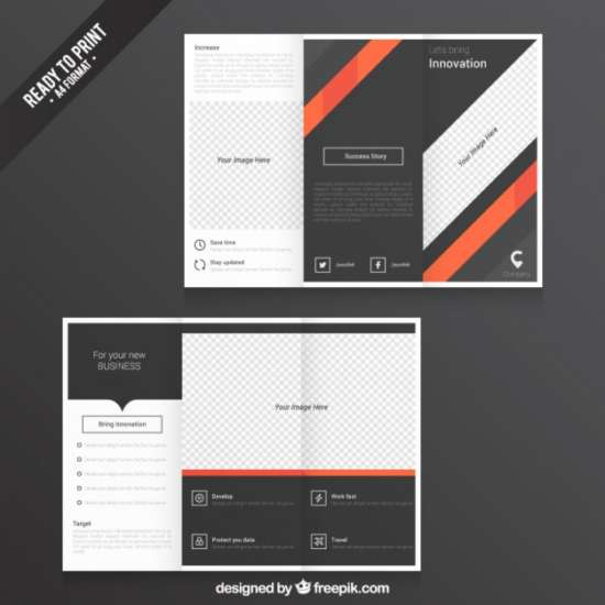 stripes_tri_fold_template