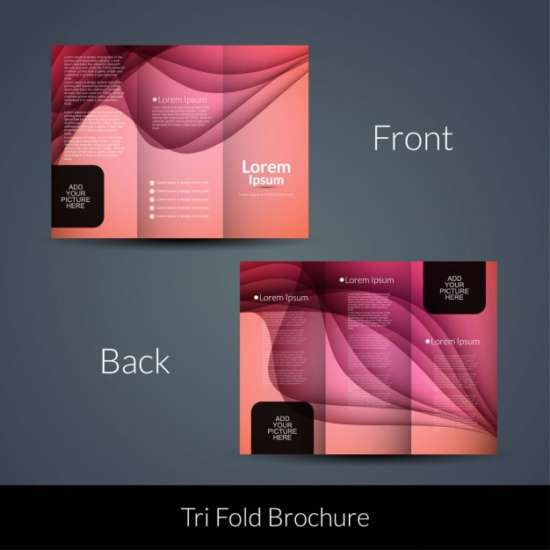 wavy_pink_tri_fold