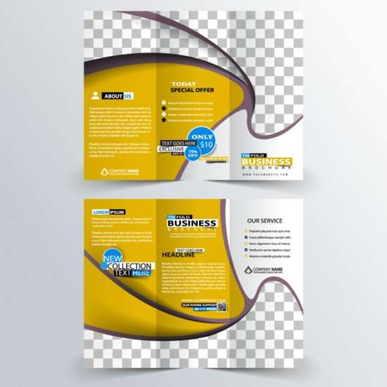 promotional_business_trifold_in_yellow_color