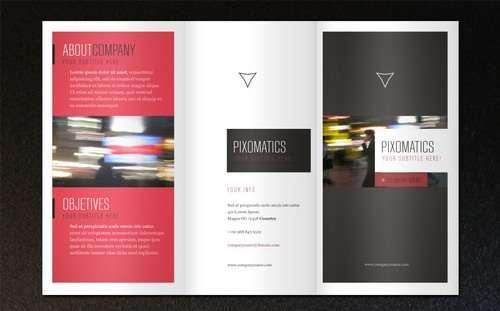 Free Attractive Tri Fold Brochure Templates Ginva - Free trifold brochure template