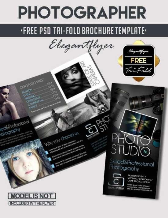 tri fold brochures free