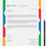 25 Free & Premium Business Letterhead Word Templates [.DOC/.DOCX]