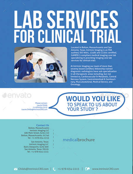 Medical Flyer Double Sided