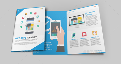 Web Apps Identity Brochure Template
