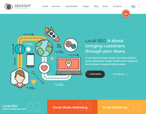 Seosight html template
