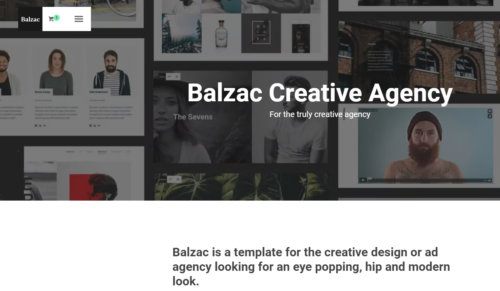 Balzac Portfolio Templates