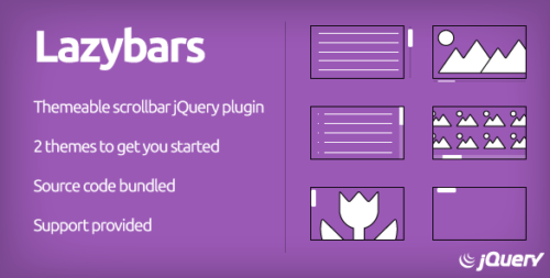 Scrollbar Plugin: Lazybars