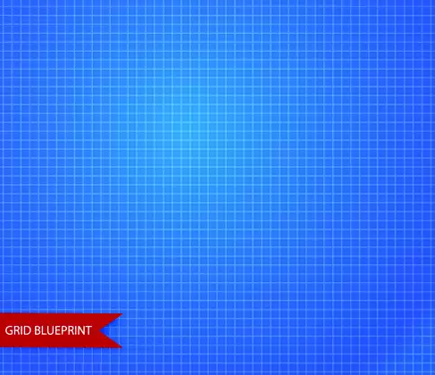 Free EPS file Vector grid blueprint pattern design