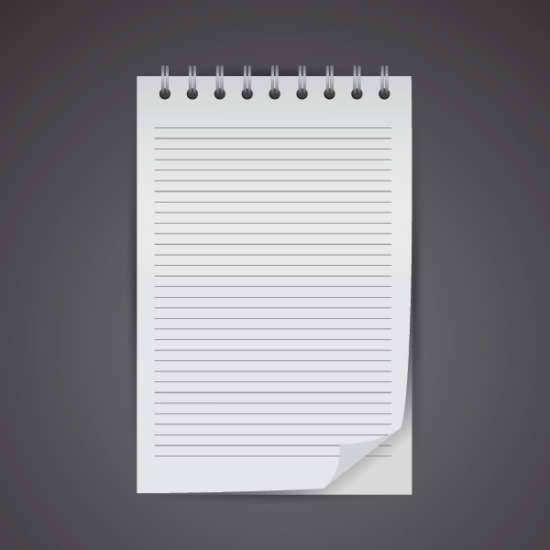 free_vector_simple_notebook_mockup