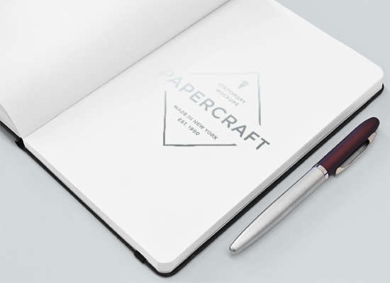 free_psd_notebook_with_logo_mockup