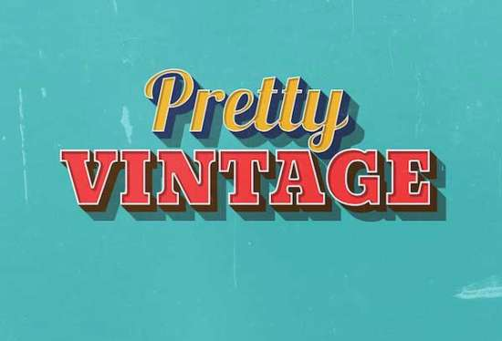 pretty_vintage_text_effect