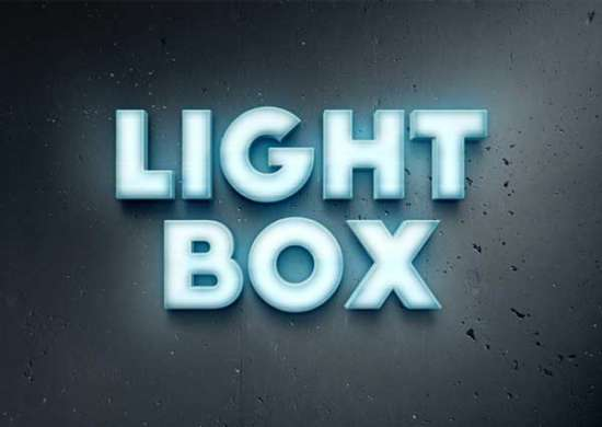 lightbox_text_effect