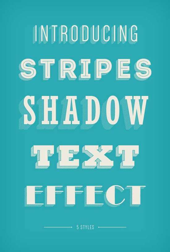 stripes_shadow_text_effect
