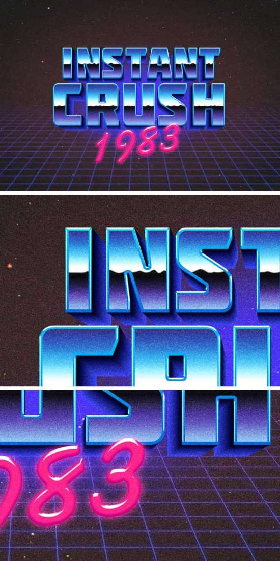 retro_typography_effect