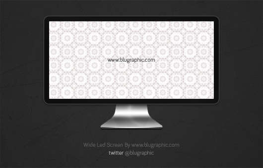 wide_led_apple_screen_psd