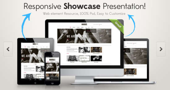 responsive_showcase_psd