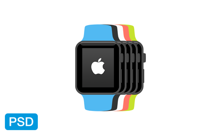 apple_watch_flat_mockup_psd