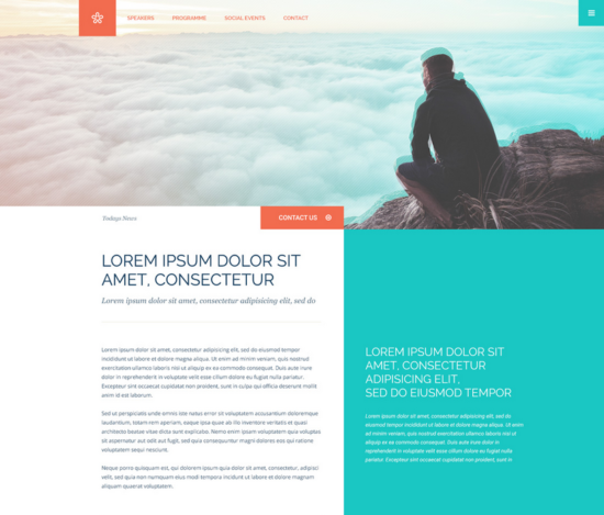 column_colorful_website_template_psd