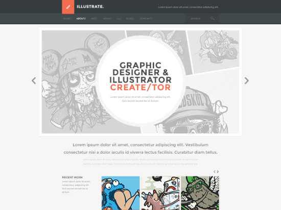 illustrate_flat_website_design_psd_template