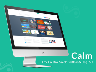 calm_blog_website_tempalte_psd