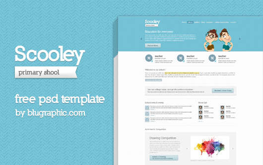 scooley_education_website_template_psd