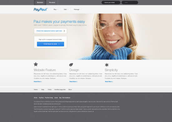 paypaul_website_template_psd