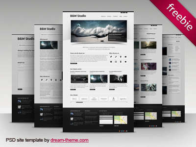 b&w_studio_web_design_psd_template