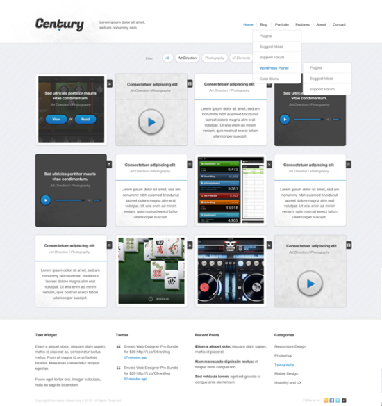century_grid_web_design_psd_template