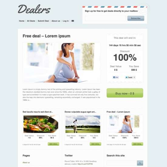 dealers_daily_deals_psd_template