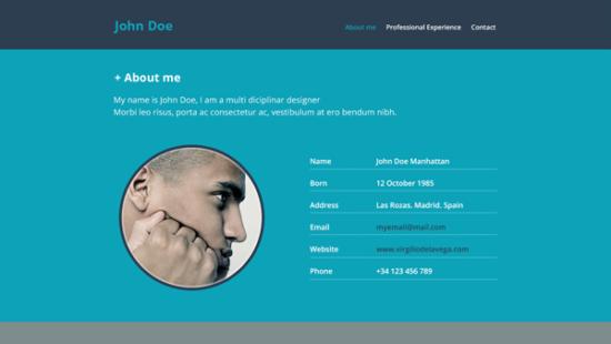 resume_website_psd_template