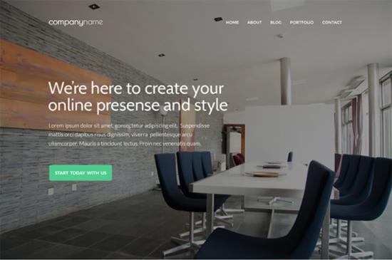 business_website_template_psd