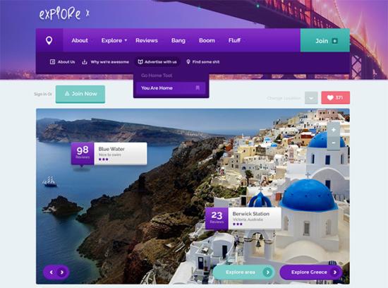 explore_website_template_psd