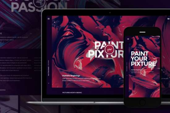 pixture_designer_website_template_psd