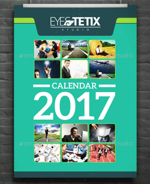 Customizable Wall Calendar 2017
