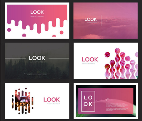 Look Creative PowerPoint Theme