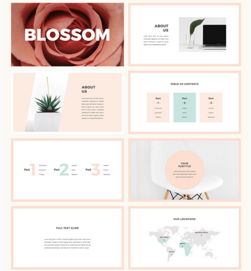 Blossom PowerPoint Template