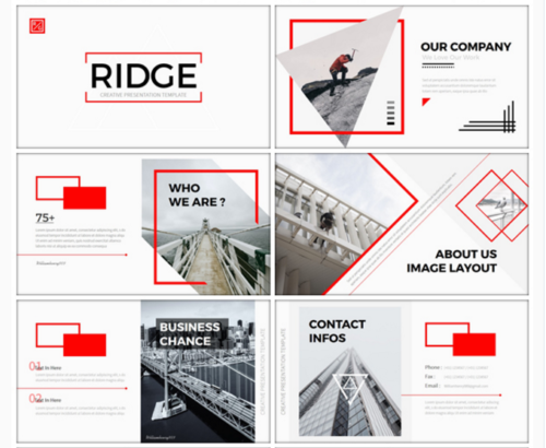20 attractive professional powerpoint templates ginva ridge creative powerpoint template ridge creative toneelgroepblik Images