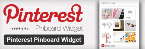 Pinterest Pinboard Widget