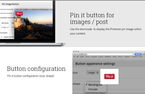 AccessPress Free WordPress Plugin for Pinterest