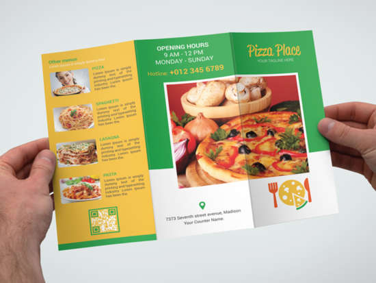 pizza_place_trifold_brochure