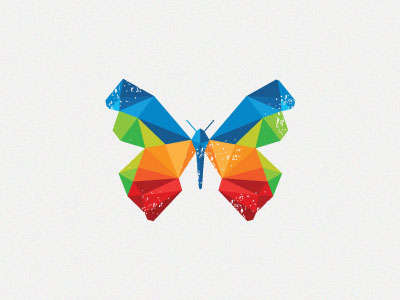 flat_colorful_butterfly_logo
