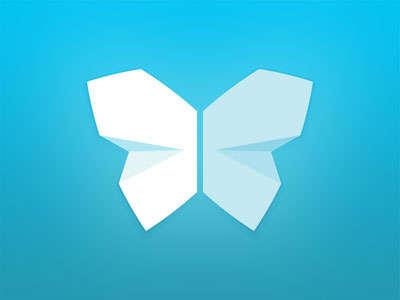 flat_butterfly_logo_design
