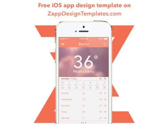 free_weather_ios_app_psd_screenshot