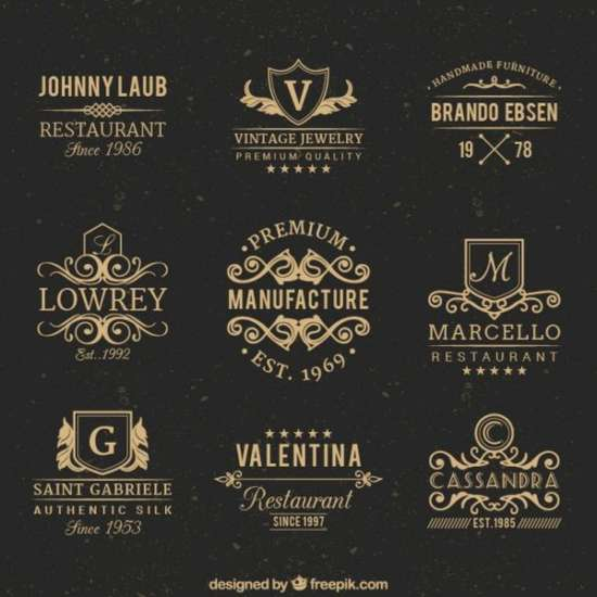 vintage_badges_free_vector_screenshot